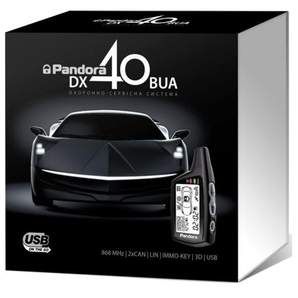 Автомобильная безопасность/Автомобильные сигнализации Автосигнализация Pandora DX40BUA