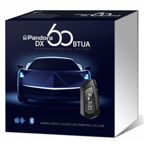 Автомобильная безопасность/Автомобильные сигнализации Автосигнализация Pandora DX60BTUA