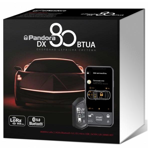 Автомобильная безопасность/Автомобильные сигнализации Автосигнализация Pandora DX80BTUA