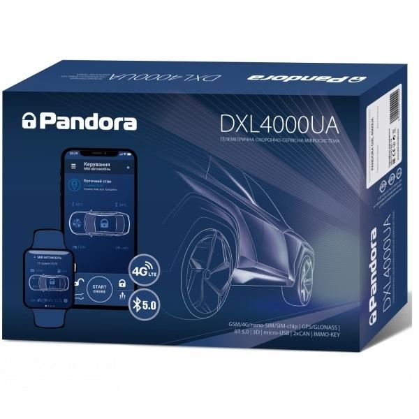Автомобильная безопасность/Автомобильные сигнализации Автосигнализация Pandora DXL4000UA