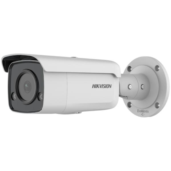 Відеонагляд/Камери відеоспостереження 4 Мп IP відеокамера Hikvision DS-2CD2T47G2-L (C) (4 мм) з технологією ColorVu