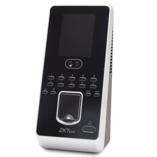 Контроль доступа/Биометрические системы Биометрический терминал ZKTeco MultiBio 800-H/ID со сканированием отпечатка пальца, лица, карт доступа EM-Marine