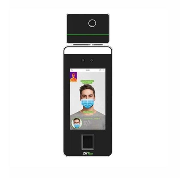 Контроль доступу/Біометричні системи Біометричний термінал ZKTeco SpeedFace-V5L (TI) з розпізнаванням облич, долоні та відбитків пальців