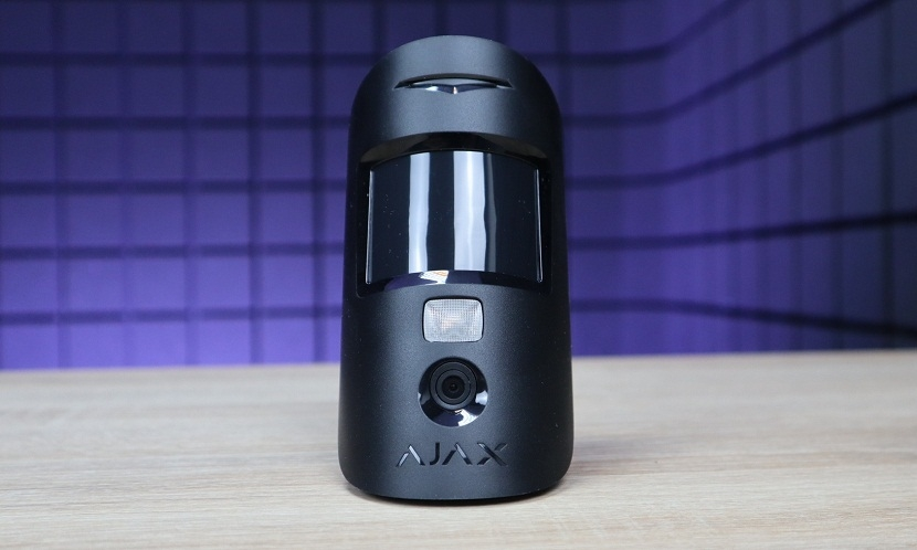 Security systems Review of the motion sensor with the Ajax MotionCam camera