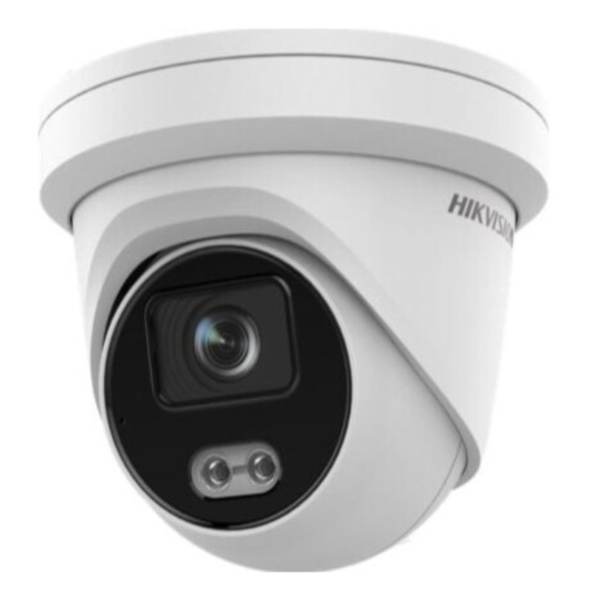 Відеонагляд/Камери відеоспостереження 4 Мп IP відеокамера Hikvision DS-2CD2347G2-LU(C) (2.8 мм) ColorVu