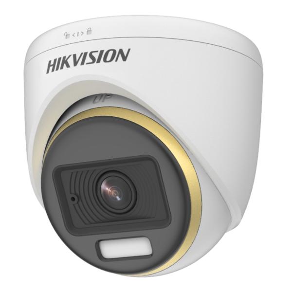 Відеонагляд/Камери відеоспостереження 2 Мп HDTVI відеокамера Hikvision DS-2CE72DF3T-F (3.6 мм) ColorVu