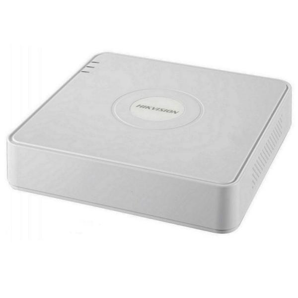 Відеонагляд/Відеореєстратори 8-канальний NVR відеореєстратор Hikvision DS-7108NI-Q1/8P (C) з PoE