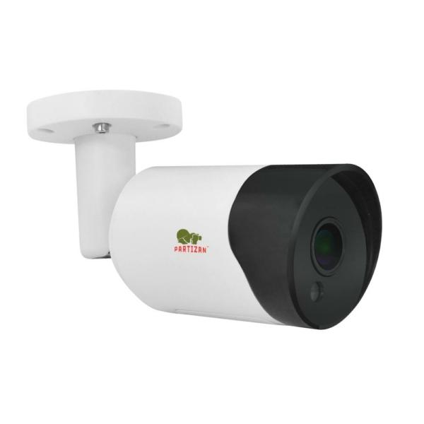 Відеонагляд/Камери відеоспостереження 5 Мп IP відеокамера Partizan IPO-5SP Starlight 1.2 Cloud