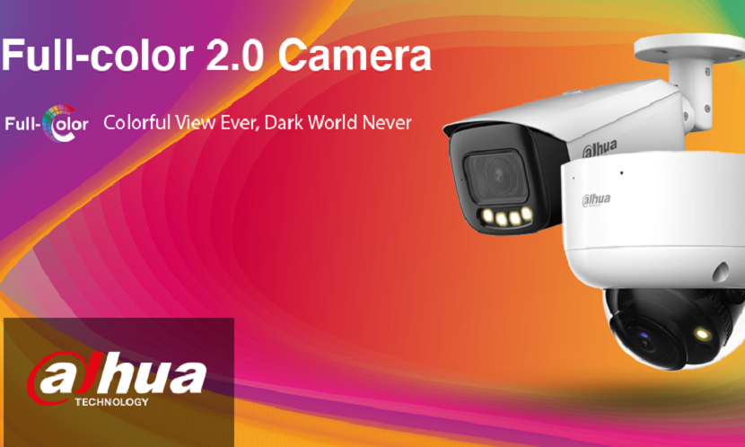 Video surveillance Dahua Technology Introduces Updated Full-color 2.0 Network Cameras