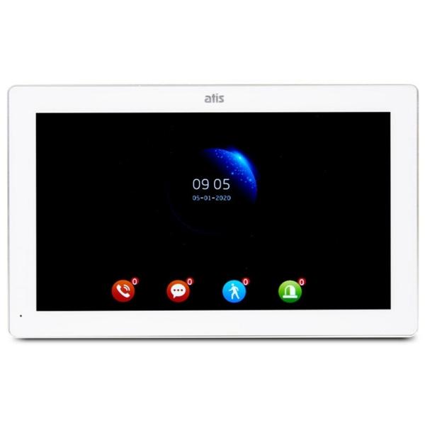Домофони/Відеодомофони Відеодомофон Atis AD-1070FHD/T-White з підтримкою Tuya Smart