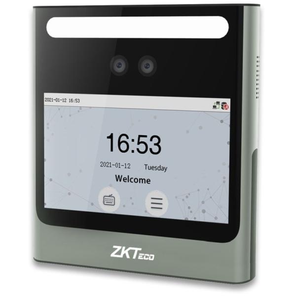 Контроль доступу/Біометричні системи Біометричний термінал ZKTeco EFace10 WiFi [MF] з розпізнаванням облич та зчитувачем карт Mifare