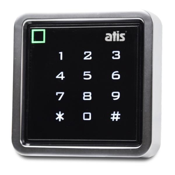 Контроль доступа/Кодовые клавиатуры Кодовая клавиатура влагозащищенная Atis AK-603 MF-W со встроенным считывателем карт/брелоков