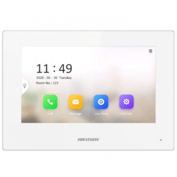 Домофони/Відеодомофони IP-відеодомофон Hikvision DS-KH6320-LE1 white