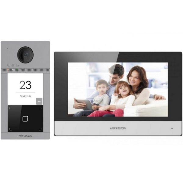 Intercoms/Video intercoms Wi-Fi IP Video Intercom Kit Hikvision DS-KIS604-P