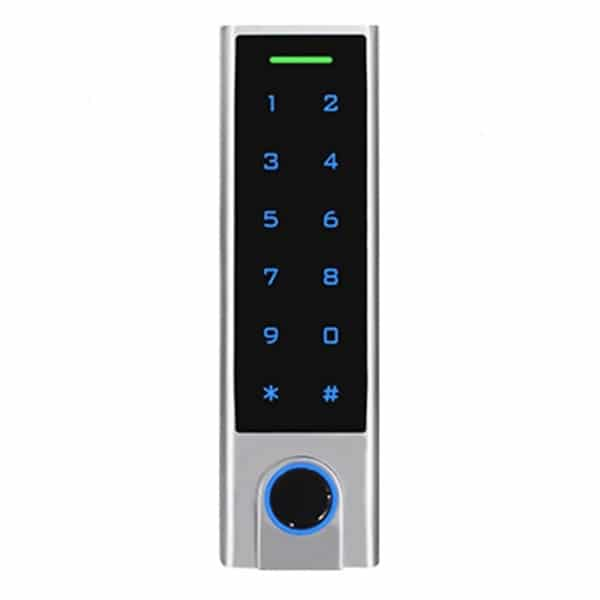 Контроль доступа/Кодовые клавиатуры Кодовая клавиатура Tecsar Trek SA-H3F со сканером отпечатков пальцев и считывателем карт
