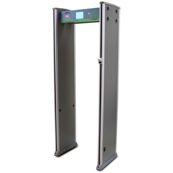 Контроль доступу/Металошукачі Арочний металошукач з функцією вимірювання температури ZKTeco ZK-D3180S(TD) на 18 зон детекції