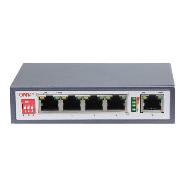 Сетевое оборудование/Коммутаторы 4-портовый коммутатор ONV POE31004PLD неуправляемый